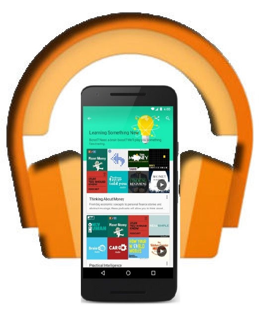 google play music integrate podcast
