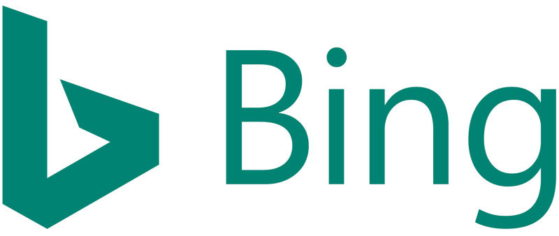 The new Bing logo, updated in January 2016
