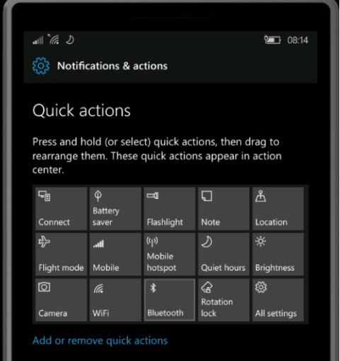 Windows 10 Mobile Redstone Boasts of New Features