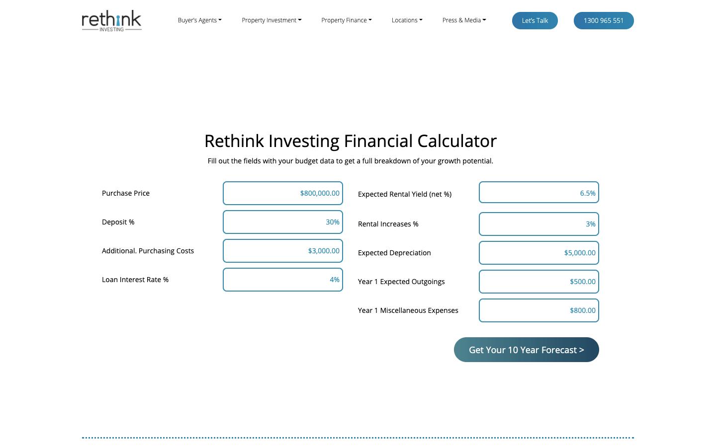rethink investing